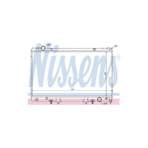 Genuine Nissens Engine Cooling Radiator - 645951