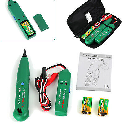 Telephone Lan Network Tester Tracker Cable Wire Finder Tracer Toner Test Tool Us