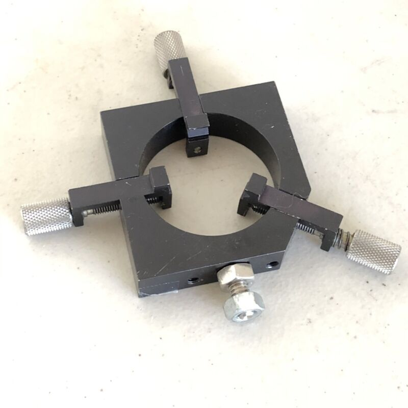 Fixture 3-Point Independent V-Groves One Point Spring Loaded Weights 4.5 Oz
