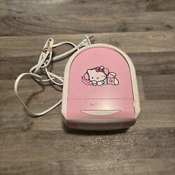 Hello Kitty Radio Pink CD Player Dual Alarm Clock Model KT2053 Sanrio