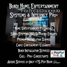 Bondi Home Entertainment Installations & Internet Connection Pro* Bondi Beach Eastern Suburbs Preview