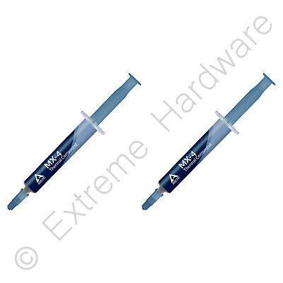 2 x Pack Arctic Cooling MX-4 Thermal Compound 4g Tube Artic Paste No Silver 2020