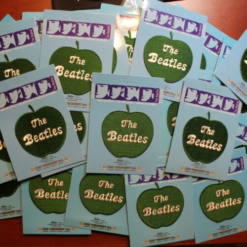 Wholesale Liquidation Lot of 25 The Beatles Apple Embroidered Iron On Patch