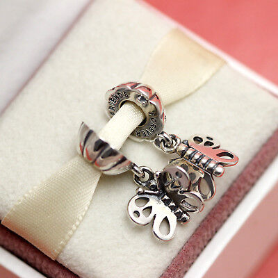 * Authentic Pandora Best Friends Forever Butterfly 790531 Love Wife Sister