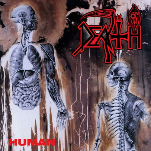 DEATH Human BANNER HUGE 4X4 Ft Fabric Poster Flag metal band album cover art