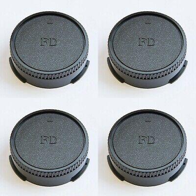 4X Tapa Trasera de Objetivo para Canon Fd, Tapa, Rear Lente Cap