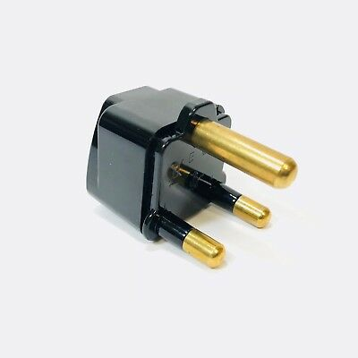 Plug Adapter South Africa Thick Three Prong Plug Type M Electrical large outlet
