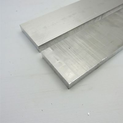 1 Thick Aluminum 6061 Plate 4.4375 X 17.875 Long Qty 2 Sku 175429