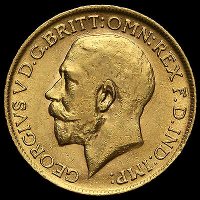 1912 George V Full Sovereign