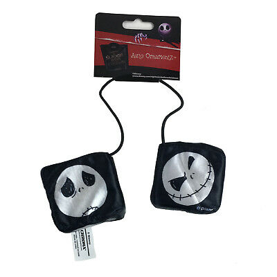 New Nightmare Before Christmas Car Truck Rear View Mirror Hanging Dice Ornament - Mirror Ornaments