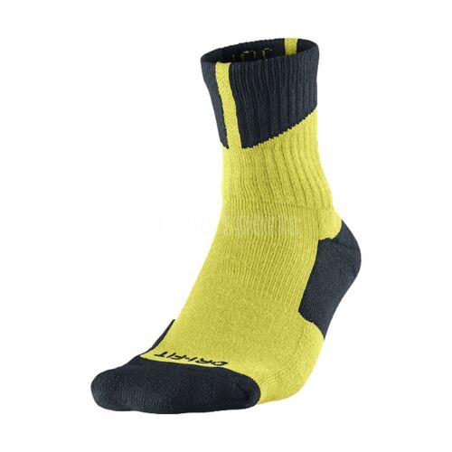 Nike Men Air Jordan Dri Fit High Quarter Basketball Socks Tr