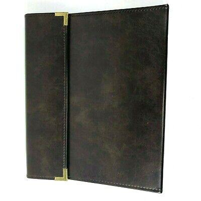 Cambridge Portfolio Brown Notebook Planner Organizer Mead 46096 11x13