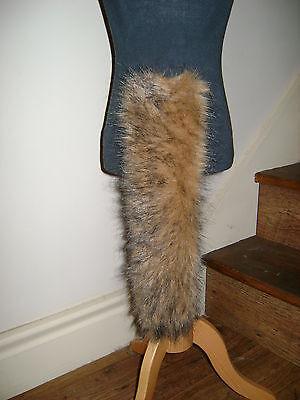 Animal Dog Cat Shaggy Tail Brown/Black Tipped Luxury - Black Cat Dog Kostüm