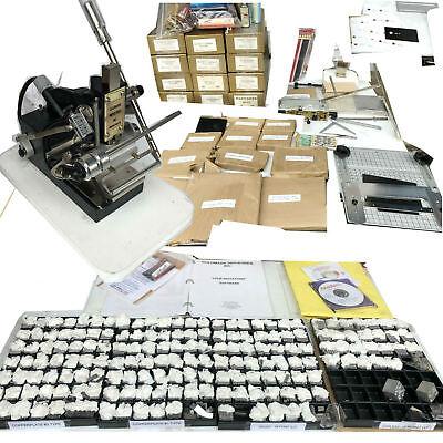 Great Lk Goldmark Industries Foil Imprinting Machine Hot Stamping Made N Usa