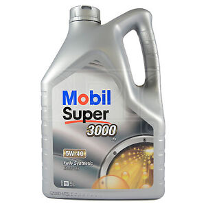 Mobil Super 3000 X1 5W-40 Fully Synthetic Engine Motor Oil 5 Litres 5L