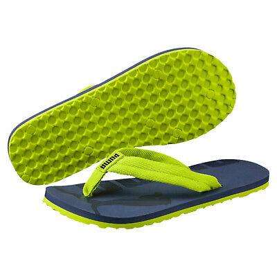 Puma  Flip Badeschuhe 360288-11 Kinder Badeschuh Badeslatschen Lime Grün (Lime Grün Schuhe)