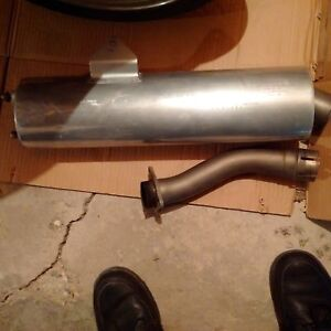 Kawasaki Motorcycle Exhaust KHI K 478