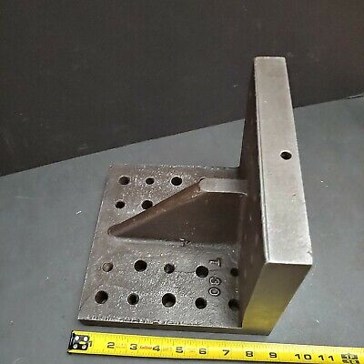 Heavy Duty 8-12 X 8-12 Right Angle Plate Milling Fixture Grinding Machinist