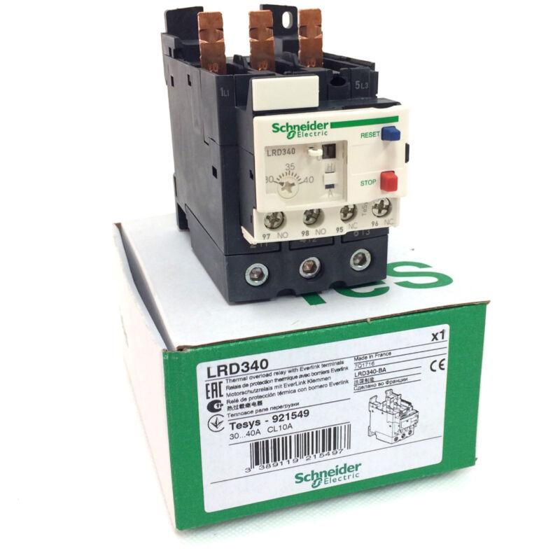 SCHNEIDER ELECTRIC LRD340 OVERLOAD RELAY 30-40A