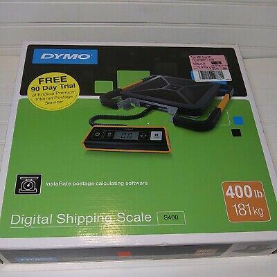 New Dymo S400 Portable Digital Usb Shipping Scale 400 Lb.