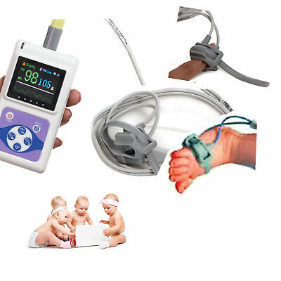 Neonatal Infant Pediatric Kids Born Bundled Spo2 Monitor Pulse Oximetersoftware