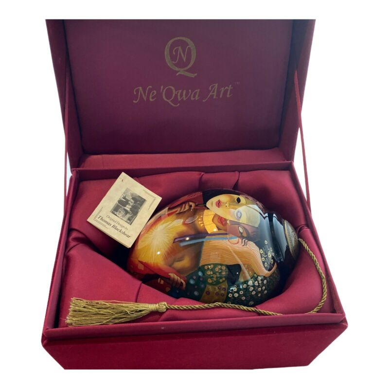 Ne Qua Thomas Blackshear Hand Painted Ornament  Intimacy LE-TB-440 Limited Ed