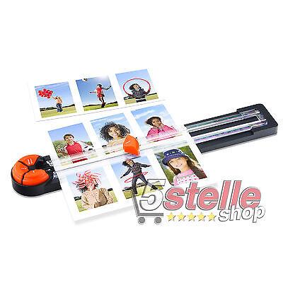 TAGLIERINA LAMA ROTANTE Peach PC100-10 4 TIPI DI TAGLIO CARTA FOTO SCRAPBOOKING