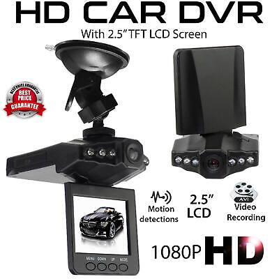 HD 1080P Car Dash Cam Video Recorder Camera Vehicle  DVR Night Vision G-sensor