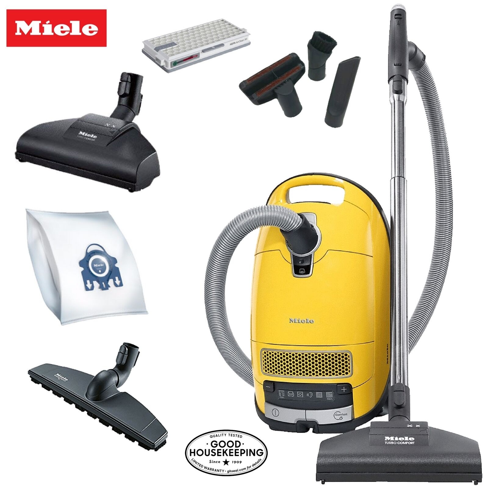 Miele Calima C3 Complete Canister Vacuum Cleaner - Great On