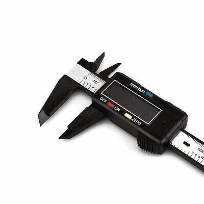 6″ 150mm Carbon Fiber Electronic Digital Vernier Caliper Micrometer Guage LCD US Business & Industrial