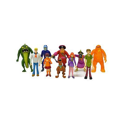 Scooby Doo Monster Set Action Figure, 10 Pack Multicolor ()
