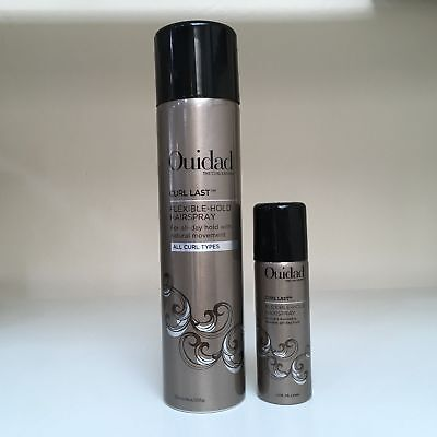 OUIDAD Curl Last Flexible-Hold Hairspray (Light Hold) - YOU CHOOSE SIZE!!!