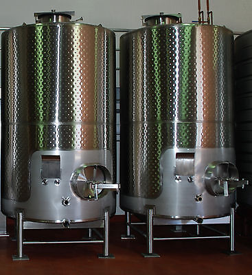 Stainless Steel Wine Tank Fermenter 3000 Gallon