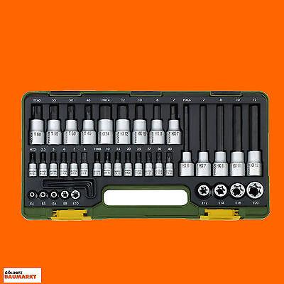 Proxxon Steckschlüsselsatz HEX TX 1/2