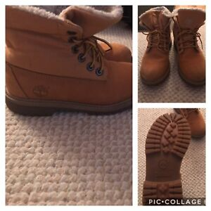 Timberland boots  youth size 4
