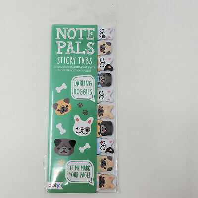 Ooly Note Pals Sticky Tabs Darling Doggies