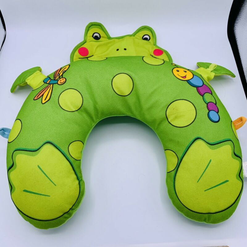 Travel Pillow Neck Support Frog Toad Infant Baby Car Stroller Seat Dragonfly