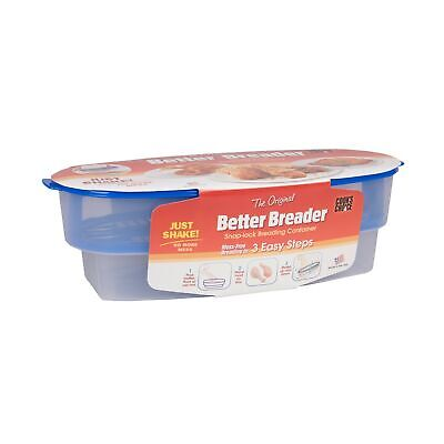 Cook's Choice Original Better Breader Batter Bowl- All-in-One Mess Home