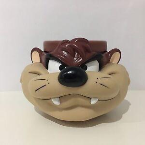 1993 Looney Tunes Tasmanian Devil Promotional Mug