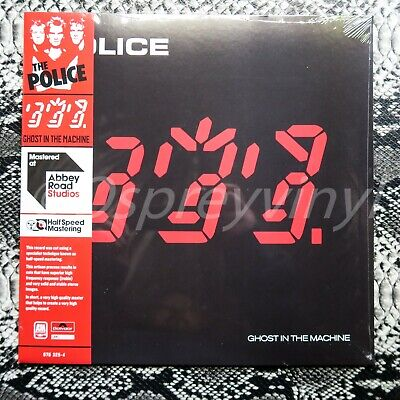 The Police Ghost in the Machine Half Speed Mastered at Abbey Road...