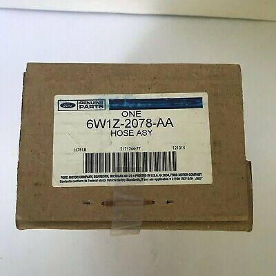 Genuine Part Brake Hose - Genuine Ford Brake Hose 6W1Z-2078-AA New OEM Factory Part