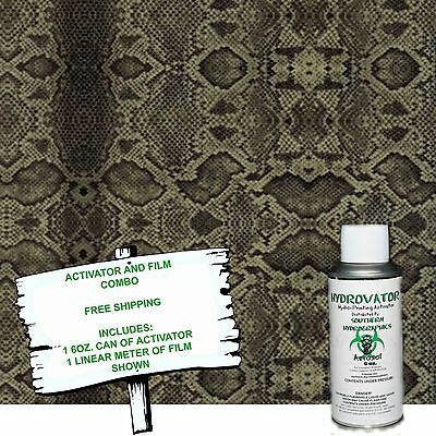 Hydro Dip Hydrographic Film Water Transfer 6oz Activator Wrattler Kit