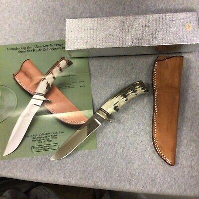 LOVELESS WARREN BY BLACKJACK STAG KNIFE BJ-250 MADE BY KOJI HARA #038
