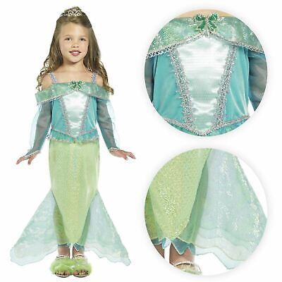 Neu Mädchen Deluxe Kleine Meerjungfrau Prinzessin Fischschwanz unter - Kleine Meerjungfrau Kostüme Mädchen