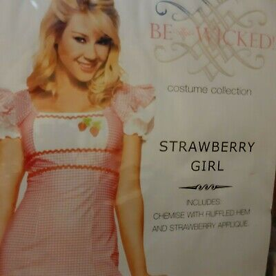 Sexy Erdbeere Kostüm Damen Halloween Oktoberfest Disco Neu - Erdbeere Kostüm Frauen