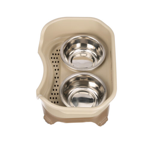 Neater Feeder Express | Mess Proof Elevated Dish | Stainless Bowls ALL SIZES