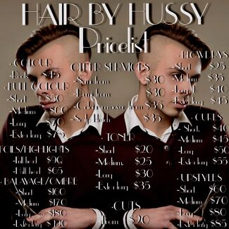 HAIRBY HUSSY talented hair stylist