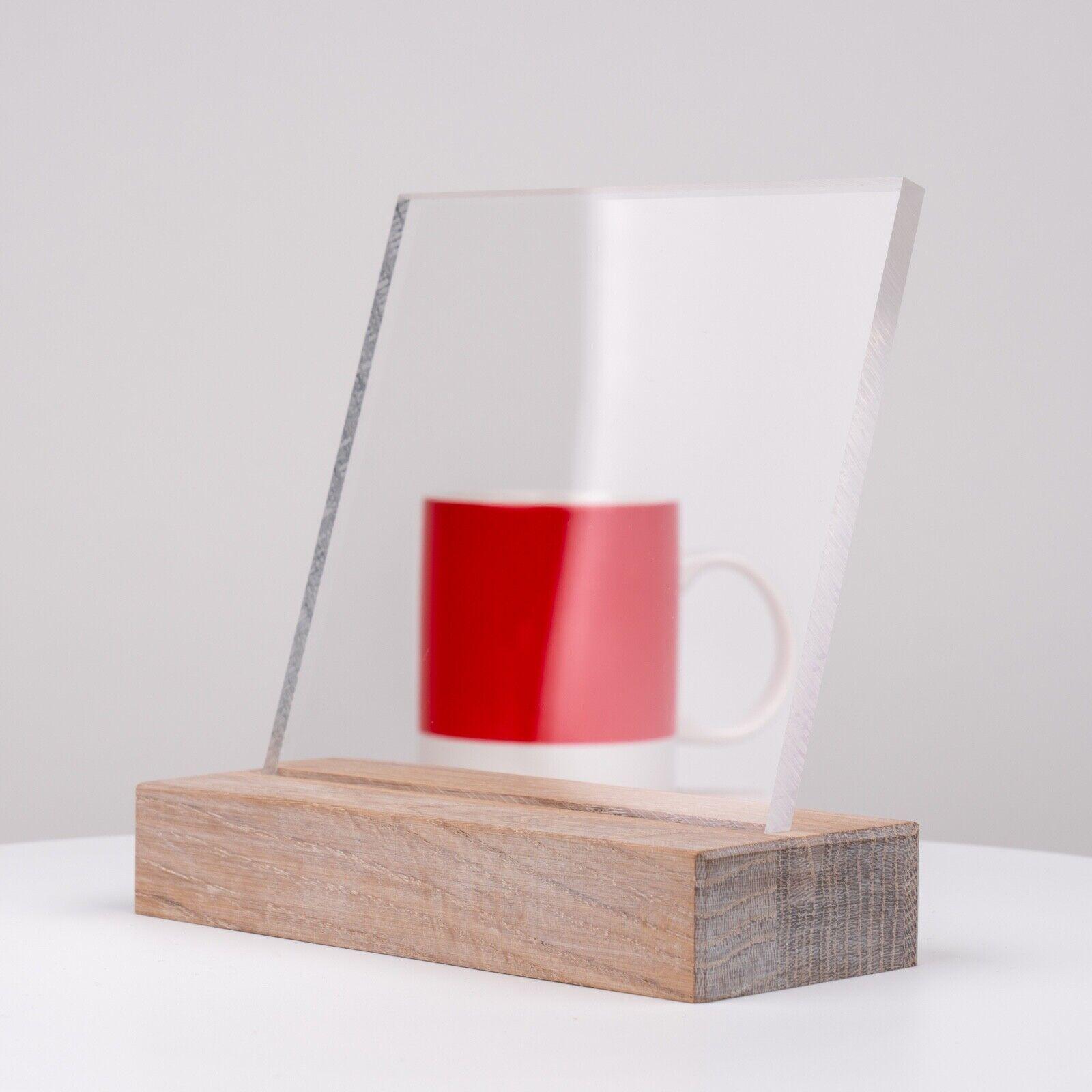 3mm transparent Polymethylmethacrylat Acrylglas A3 Zuschnitt 420mm x 297mm