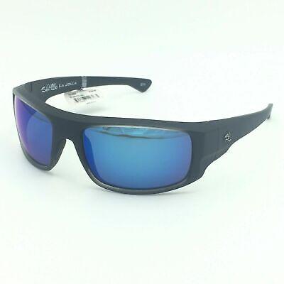 Salt Life LA JOLLA Men's Sport Sunglasses ~ Frost Grey w/ Smoke Blue Lens (La Jolla Sunglasses)