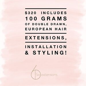 HAIR EXTENSIONS: Highly Reputable, Same-Day & Mobile Available
